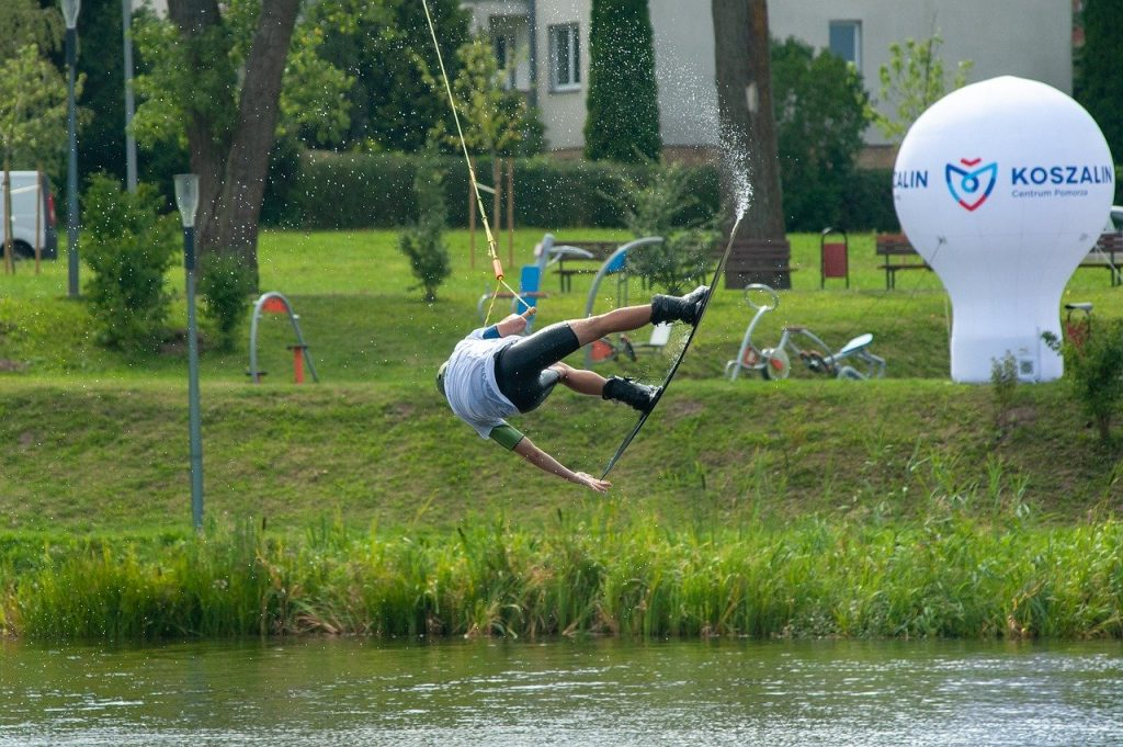 Cable torre wakeboard
